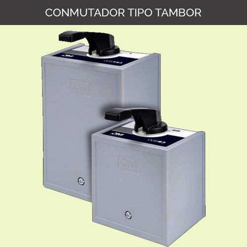 Conmutador Tipo Tambor Reversible Cr-830 Trifásico (51001)