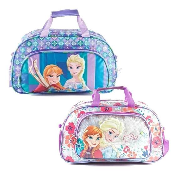 Bolso Para Pileta Nena Frozen Elsa Anna Personajes Mmk 89