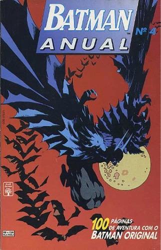 Batman Anual 4 Dc Comics Abril Jovem 1995