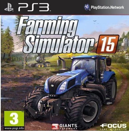 Jogo De Ps3 Farming Simulator 15 Em Mídia Digital