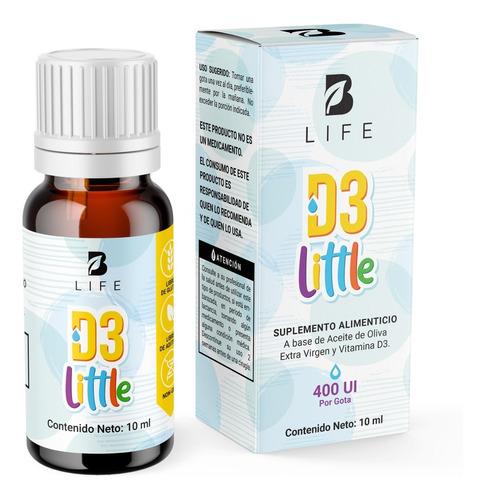 Imagen 1 de 5 de Vitamina D3 En Gotas Para Niños Con 300 Gotas B Life