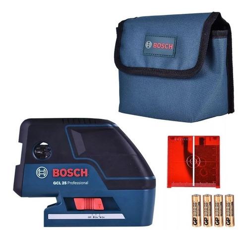 Nivel Laser Combinado De 2 Lineas Y 5 Puntos Bosch Gcl 25