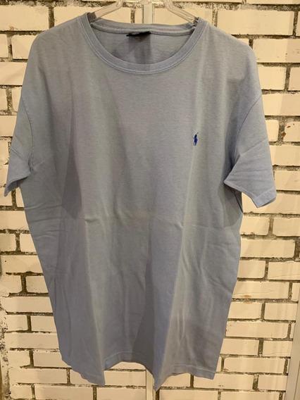 Camiseta Polo Ralph Lauren Masculino Azul Claro
