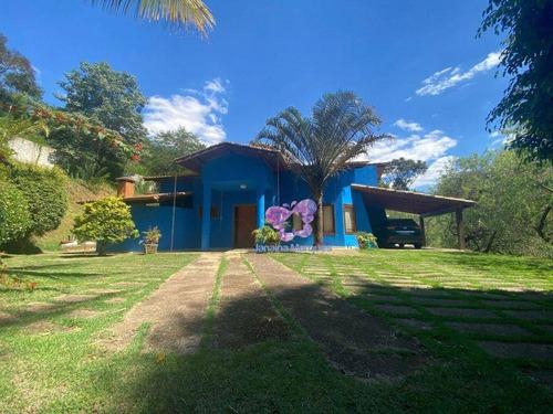 Chácara Com 4 Dormitórios À Venda, 3000 M² Por R$ 850.000,00 - Condominio Vila Verde - Araçariguama/sp - Ch0147