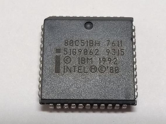 80c51 Plcc-44 (80c51bh) - Lote De 5 Peças