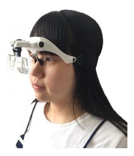 Lente Lupa Optovisor Con Luz Led