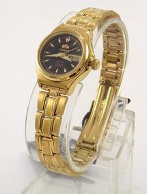Relógio Fino Aço Inox Feminino Orient Automático Fnq1s002b9