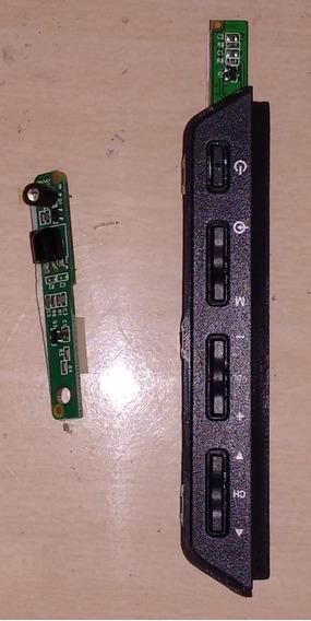 Placa De Sensor + Teclado Da Tv Sony Kdl32ex555