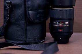 Lente Nikon 105mm 2.8 Macro Novíssima+bolsa