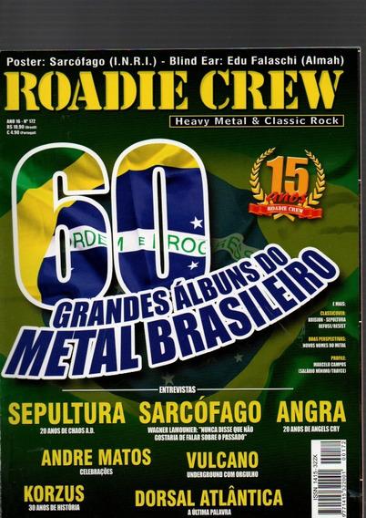 Revista Roadie Crew 60 Grandes Albuns Brasileironº172 (650)