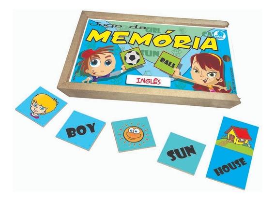 Jogo Da Memória Infantil Inglês