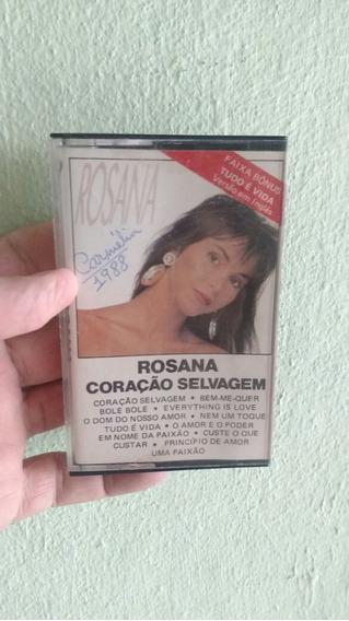 Fita K7 Original Rosana- O Amor E O Poder