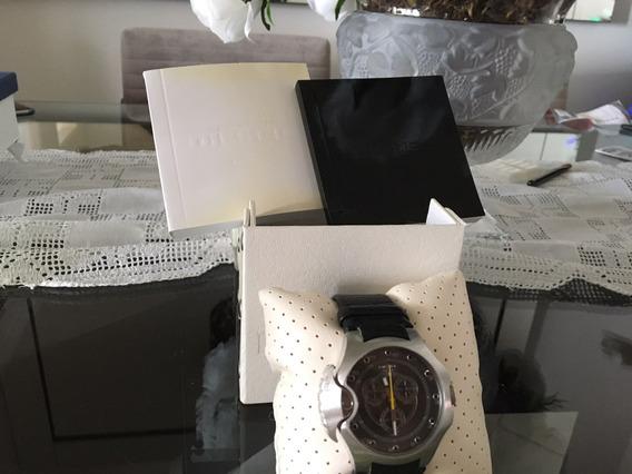 Relógio Unisex Diesel Pulseira Em Couro Dz 4131 Original