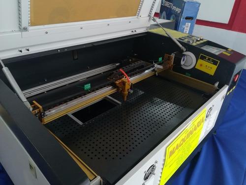 Maquina Laser 80 W Sellos Acrilico Madera Grabado Cnc Corte