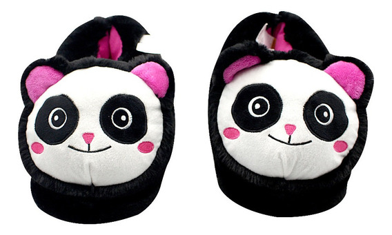 Pantufa Panda Tamanhos P. M. G
