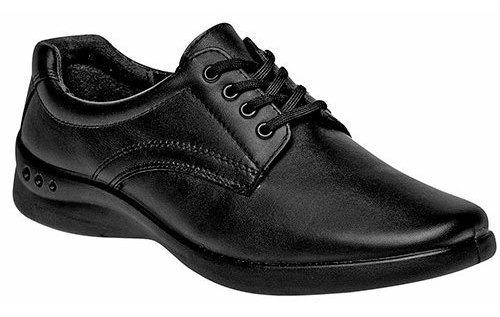 Flexi Sneaker Deportivo Clases Negro Piel Niño J37376 Udt