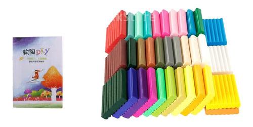 Imagen 1 de 6 de Arcilla De Polímero De Modelado De Bircolaje Multicolor