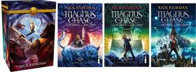 Box Heróis Do Olimpo + Série Magnus Chase - 8 Livros