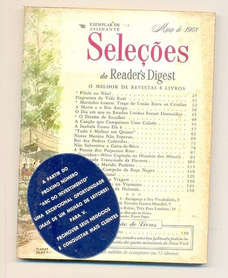 *sll* Revista Seleções Do Readers Digest - Março De 1968