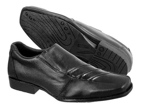 Calcado Masculino Sapato Social Couro Bovino Promoção 37,43