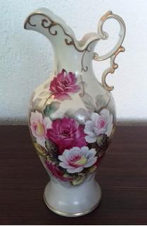 Jarron De Bavaria 34 Cm. De Alto Porcelana Alemana Genuino