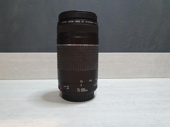 Lente Canon Zoom Ef 75-300mm F/4-5.6 Iii