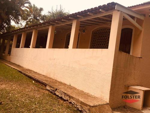 Imagem 1 de 25 de Chácara Com 3 Dormitórios À Venda, 1921 M² Por R$ 990.000 - Jardim Santa Alice - Santa Bárbara D'oeste/sp - Ch0012