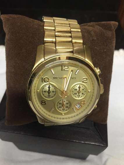 Relógio Mk 5055 Michael Kors Dourado Usado