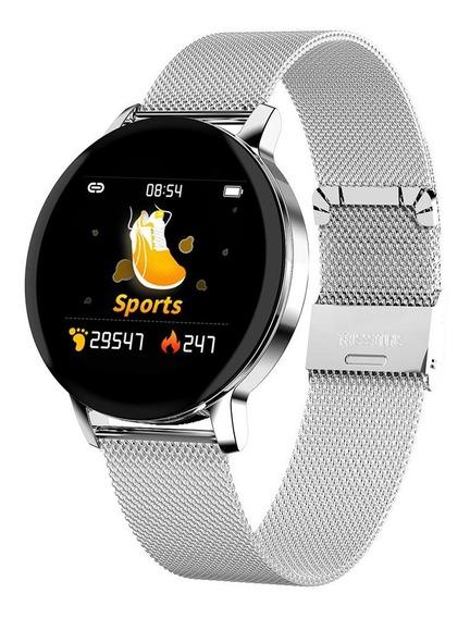 Smartwatch Relógio Celular Inteligente R5 Pulseira De Metal