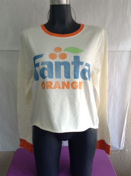 Fanta Orange Coca Cola Playera Original Dama Hot Topic