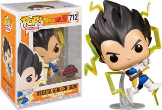 Funko Pop 712 Vegeta Galick Gun Dragon Ball Z Special Editio