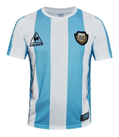 Camiseta Le Coq Sportif Argentina Mundial 86 Envíos País
