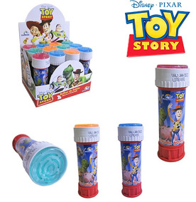 Bolha De Sabao Toy Story Com Jogo 60ml 11 5x4cm Unitário