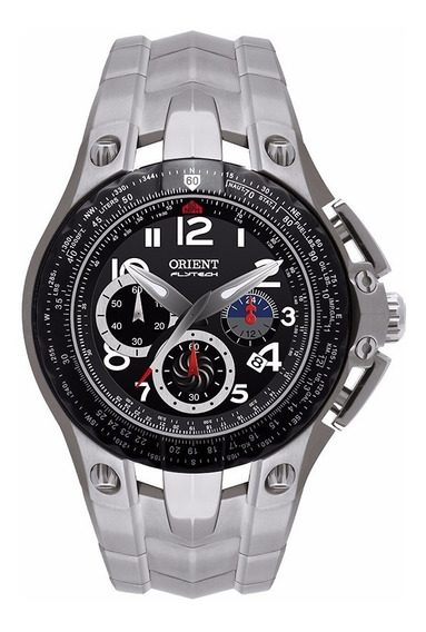 Relógio Orient Masculino Flytech Mbttc002 P2gx Titanium
