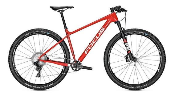 Bicicleta Montaña Focus Raven 8.8 29 Color Rojo Carbono 12g