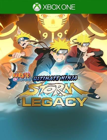 Naruto Ninja Storm Legacy Xbox - 25 Dígitos (envio Flash)