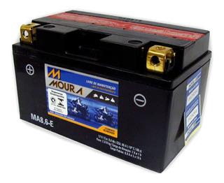 Bateria Moura Cbr 500r Cbr 650f Cb 500f Cb 500x - Ma8,6-e