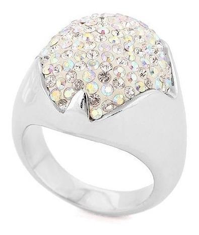 Anillo Con Cristales, Ocean Heart Oh15-31