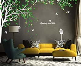 Fymural Large Brids Tree Wall Stickers Art Mural Wallpaper F