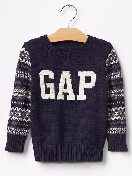 Sueter Gap Infantil Menino Blusa Frio Canguru Sweater Origi