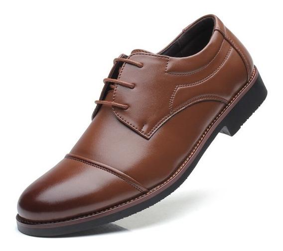 Sapatos De Couro De Grande Porte Buty Meskie