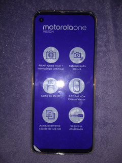Smartphone Motorola Moto One Vision 128gb Tela 6,3
