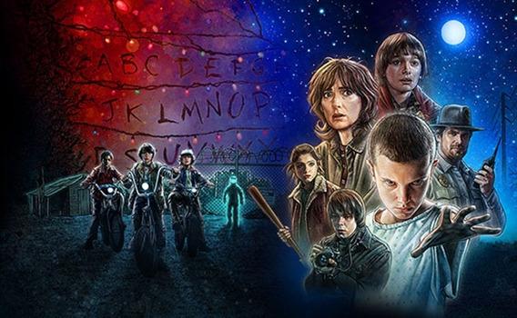 Series: The Walking Dead, Stranger Things, Black Mirror, Etc