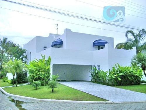 Imagem 1 de 18 de Casa À Venda, Condomínio Jardim Acapulco - Guarujá - Ca0415