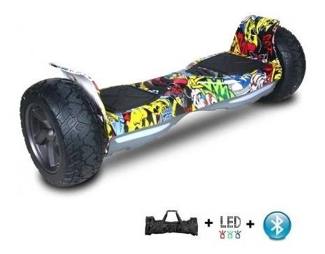 Overboard Skate Eletrico 8 Polegadas Grafitti Bluetooth