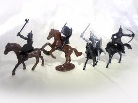 Kit Miniatura Cavaleiros Medievais
