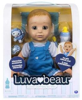 Muñeca Interactiva Luvabeau Boy