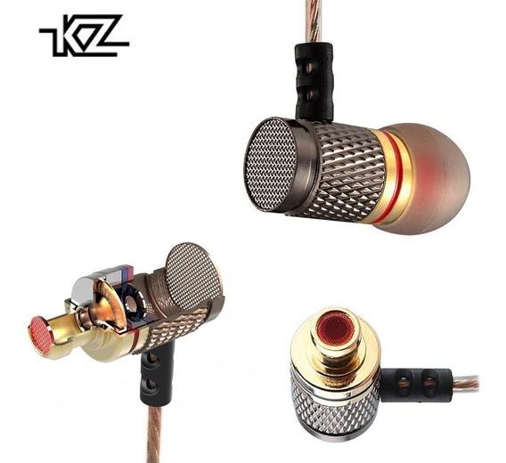 2 Unidades Fone De Ouvido Kz Edr1 Retorno De Palco In Ear