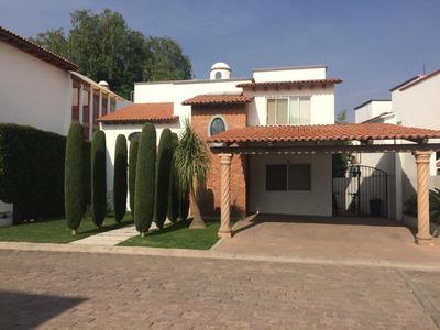 Extraordinaria Casa En Fraccionamiento Exclusivo.