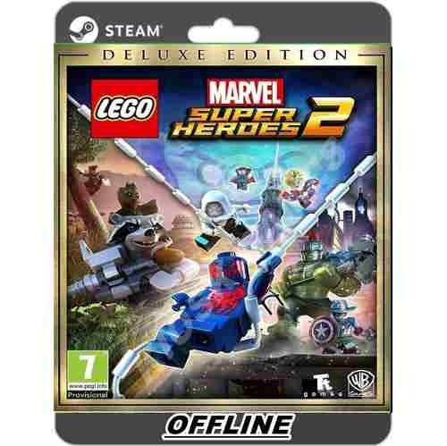 Lego Marvel Super Heroes 2 Deluxe Pc Steam Desconectado